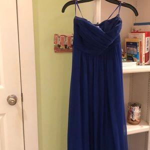 Long Ann Taylor gown
